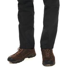 Maier Sports Tech Pants Spodnie Softshell Mężczyźni, black